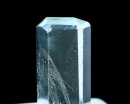 NR!!! 5.35 Cts Natural & Unheated~ Blue Aquamarine Handmade Crystal