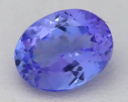 Tanzanite 2.23Ct VVS Oval Cut Natural Purplish Blue Tanzanite C1221