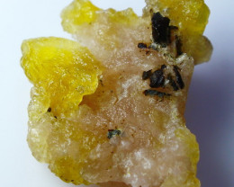 NR!!! 48.50 Cts Natural & Unheated~ Yellow Brucite Specimen