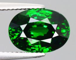 9.720 CT TSAVORITE GARNET CHROME GREEN 100% NATURAL UNHEATED
