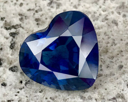 3.10 CT SAPPHIRE ROYAL BLUE COLOR 100% NATURAL ONLY HEATED
