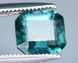 Open Color 1.55 ct Indicolite Tourmaline Ring size