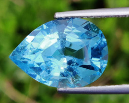 14.25 CTS INVESTMENT GEM~VIP SWISS BLUE TOPAZ  EXCLUSIVE !!