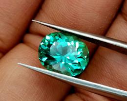 4.52Crt Green Spodumene Natural Gemstones JI33