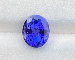 Natural Tanzanite 2.85 Cts Violet Color