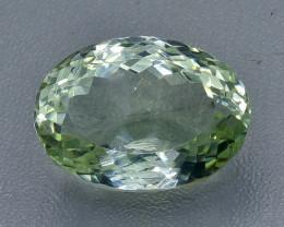 23.62 Crt  Green Prasiolite Amethyst Faceted Gemstone (Rk-1)