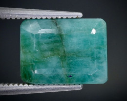 5.35 Crt  Emerald Faceted Gemstone (Rk-1)
