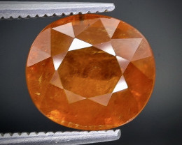 3.92 Crt Spessartite Garnet  Faceted Gemstone (Rk-1)