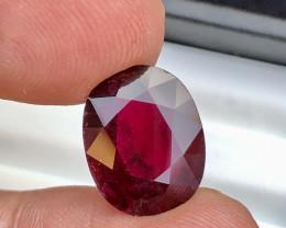 7.25 Ct Natural Rebulite  Tourmaline Gemstone
