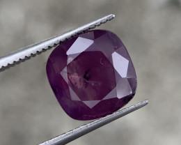 3.40 carat Natural Kashmir corundum.
