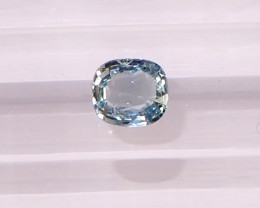 0.87ct unheated sapphire
