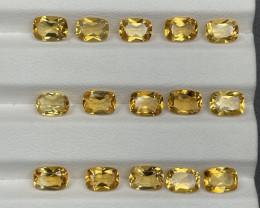 12.71 CT Citrine Gemstones parcel