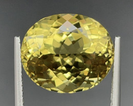 11.42 CT Heliodor Gemstones top luster with fine Cutting