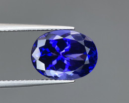 ~No Reserve~ 6.25 ct Glamorous Tanzanite Nice Color Oval Faceted Gem