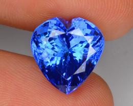 Tanzanite 8.31 Cts Rare Violet Blue Color Natural Gemstone