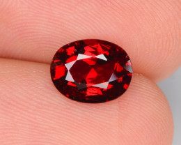 Burma Spinel 1.57 Cts Unheated Very Rare Red Color Natural Gemstone