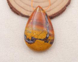 92Ct Natural Jasper Pendant Bead P0003