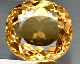 4.53ct VVS Golden Heliodor Beryl - Cushion 11.4 x 10.5 mm