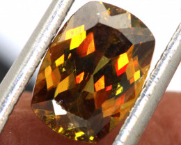 1.70 CTS CHROME SPHENE FACETED   PG-440