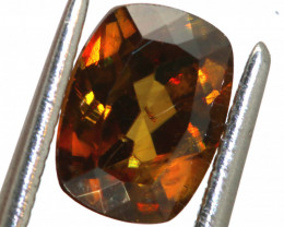 1.40 CTS CHROME SPHENE FACETED  PG-446