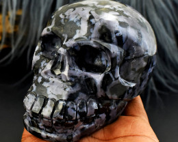 A Handcarved Skull Carving - Masterpiece - Collectible Piece