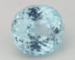 Aquamarine 8.06Ct Round Cut Natural Blue Color Aquamarine B1404