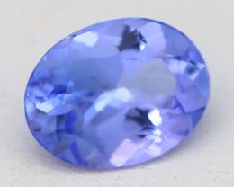 Tanzanite 1.70Ct VVS Oval Cut Natural Purplish Blue Tanzanite B1412