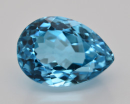 Stunning 25.45 Ct Natural Blue Topaz Gemstone