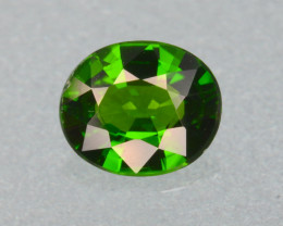 Natural Green Color Chrome Diopside  1.23  Cts Top Quality