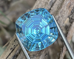 15.86 Cts Master Cut AAA Grade Natural Blue Topaz Amazing Luster