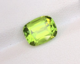Top Quality 4.30 Ct Parrot Green Peridot , Pakistan