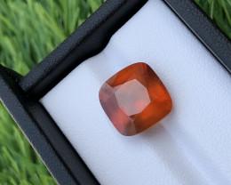 GGI lab certified natural hessonite Garnet, 9.85 carats