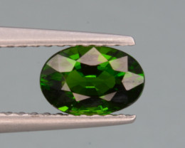 Natural Green Color Chrome Diopside 0.84 Cts Top Quality