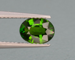 Natural Green Color Chrome Diopside 0.96 Cts Top Quality