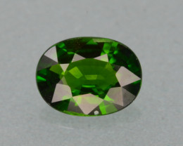 Natural Green Color Chrome Diopside1.19 Cts Top Quality