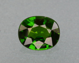 Natural Green Color Chrome Diopside 1.63 Cts Top Quality