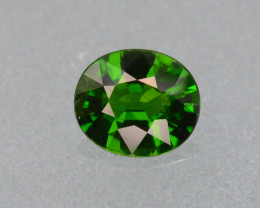 Natural Green Color Chrome Diopside 2.41 Cts Top Quality