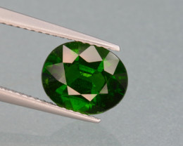 Natural Green Color Chrome Diopside 2.49Cts Top Quality