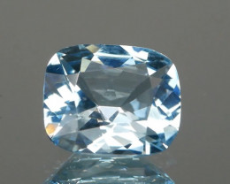 Cushion Shape Aquamarine 1.08cts