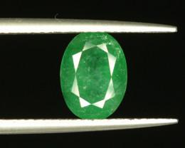 2.00 ct Oval Cut Natural Zambian Emerald