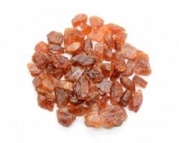 200 CT Orange Rough Garnet Crystals @Pakistan