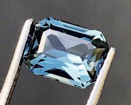1.25 CT SPINEL BLUE 100% NATURAL UNHEATED SRI LANKA