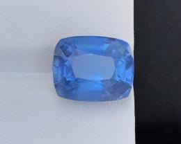 9 carat deep color aquamarine gemstone