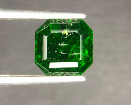 2.00 CT Beautiful Luster Chrome Diopside Gemstone ~ Russia