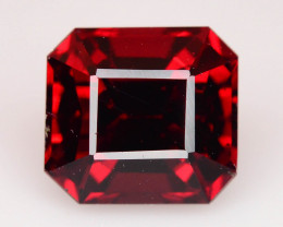 Open Color High Grade 2.35 ct Red Garnet Perfect For Ring