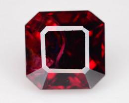 Top Grade 2.75  ct Fancy Cut Red Garnet