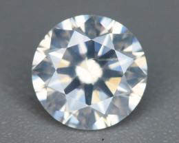 GGI Certified Good Quality 0.81  ct White Diamond