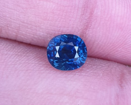 TOP QUALITY 2.18 CTS CERTIFIED NATURAL STUNNING ROYAL BLUE SAPPHIRE