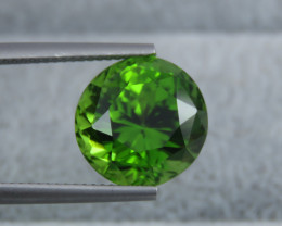 IF 11.05 CT Natural Beautiful Green Color Oval Round Shape Peridot From Pak