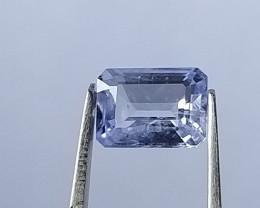 Natural Sapphire 1.30 Carat light Blue